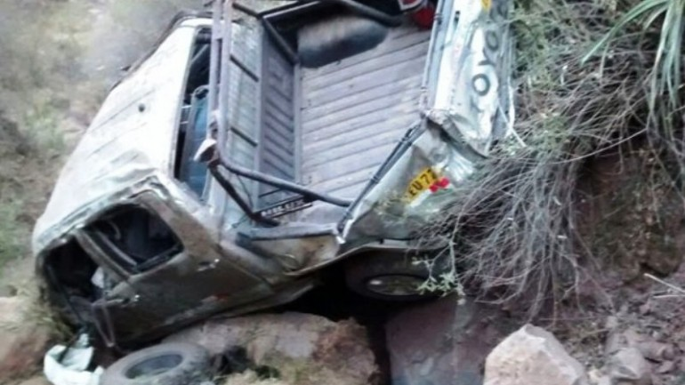 Two police officers killed in southern Peru accident