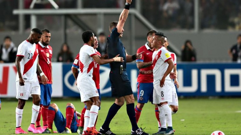 Peru doubtful for 2018 World Cup after loss to Chile