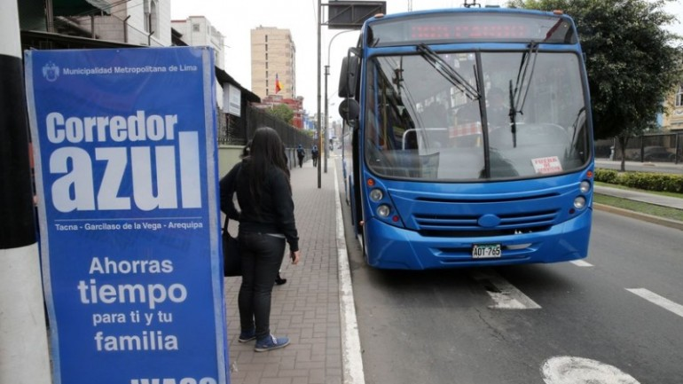 Lima and Peru's finance ministry in row over bus reform