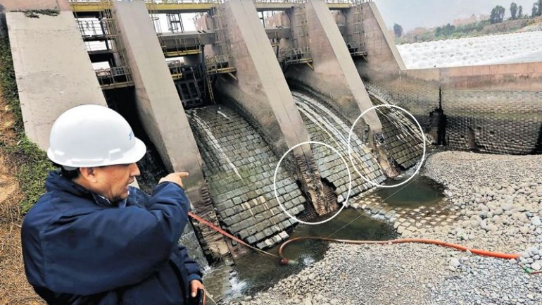 Lima water plant at risk of collapse