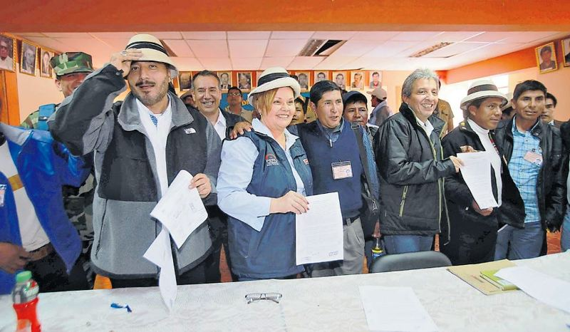 Peru's government reaches deal with Las Bambas protesters