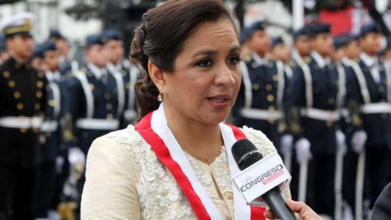Peru's vice president quits ruling party