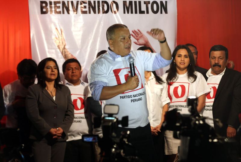 Peru's ruling party changes 2016 presidential candidate