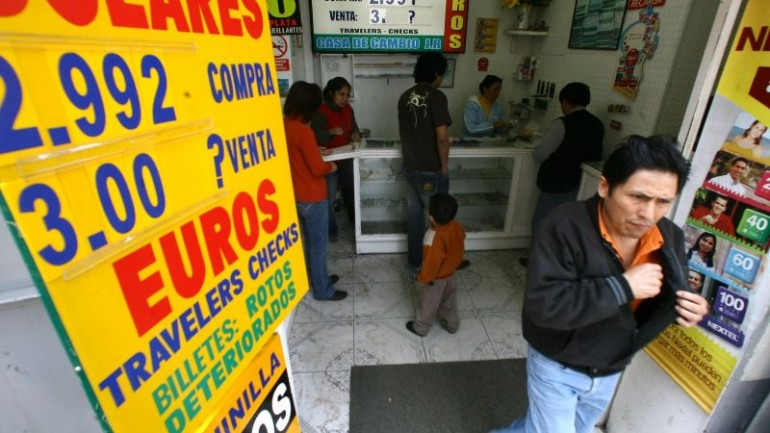 Peru's currency exchange law to combat money laundering