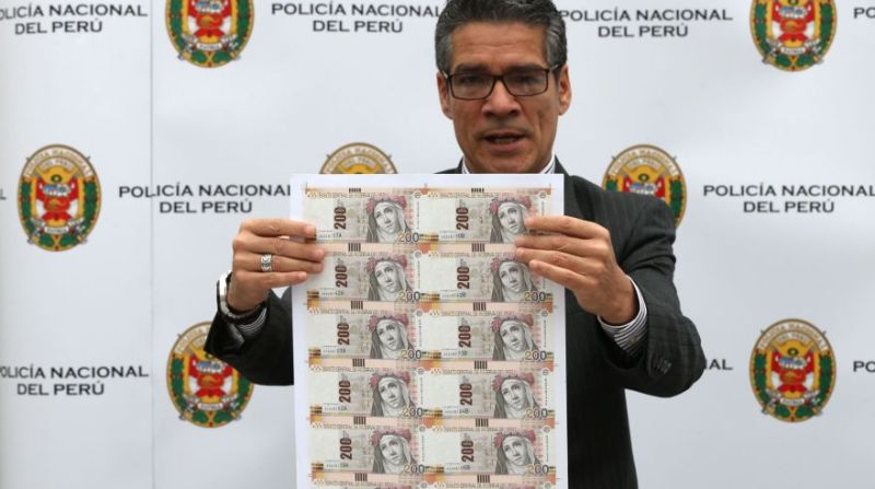 Police seize $31 million of counterfeit bills in Peru