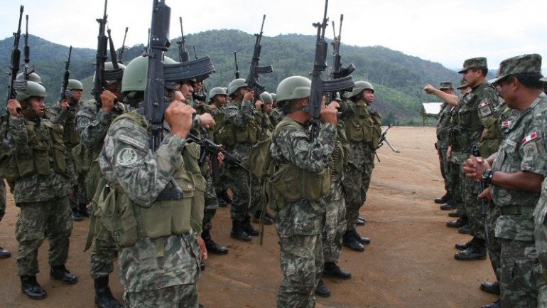 75% of Peruvians in favor of the military patrolling city streets