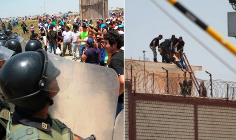 Two killed in northern Peru prison riot