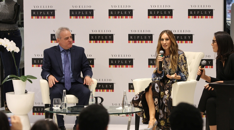 Sarah Jessica Parker visits Peru on promo tour
