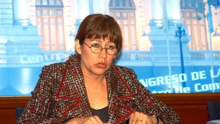 Censured politician sues Peru's congress for $775,000
