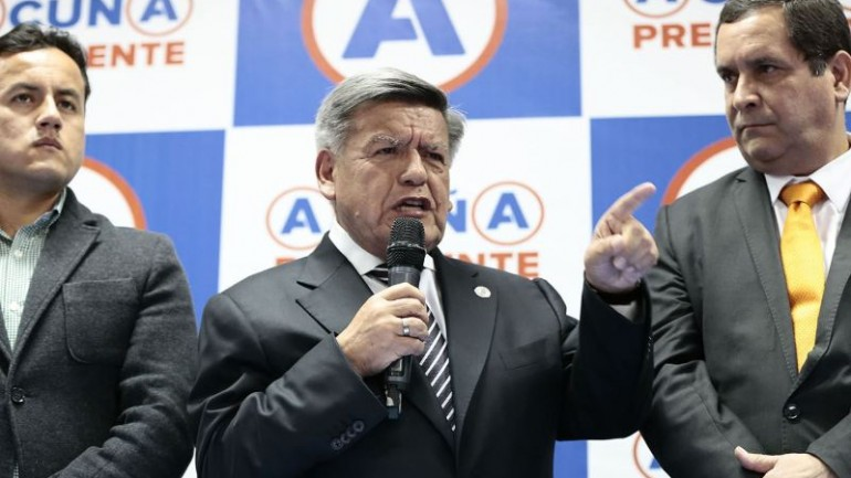 Peru presidential candidate accused of rape, spousal abuse