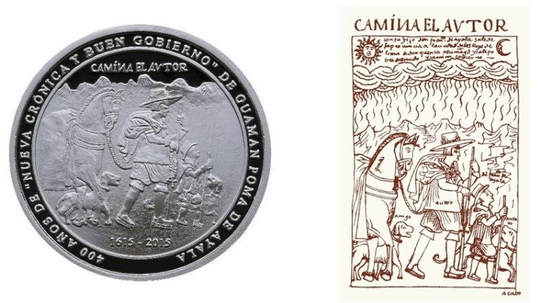 Peru issues coin commemorating indigenous writer