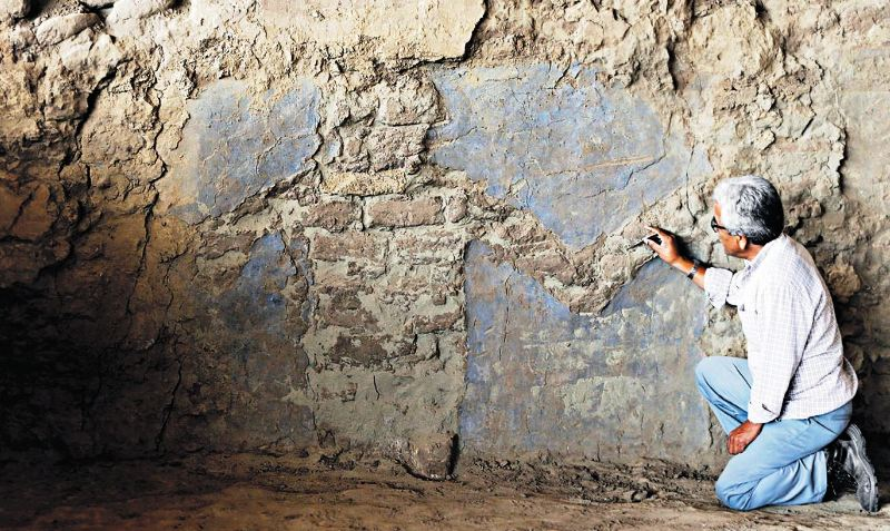 Mural bolsters case for private investment in Peru's archaeology