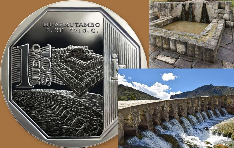 Peru collectors coin features Inca archaeological site