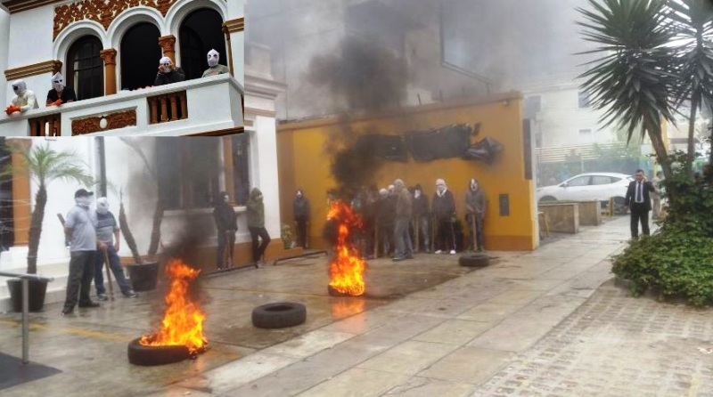 Police arrest 36 thugs hired to thwart eviction in Lima
