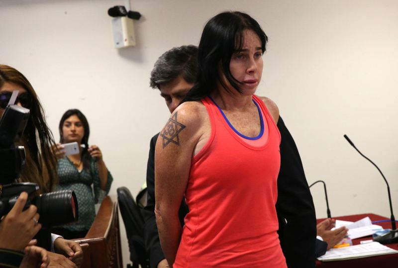 Prison for woman whose arrest went viral in Peru