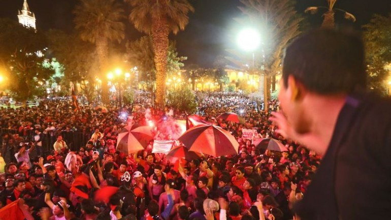Arequipa club wins Peru's soccer league championship