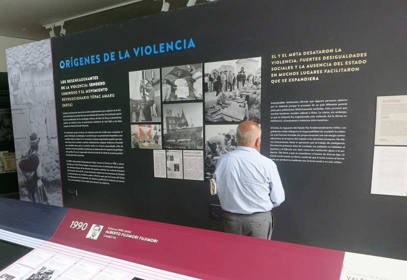 Peru opens armed-conflict memorial museum in Lima