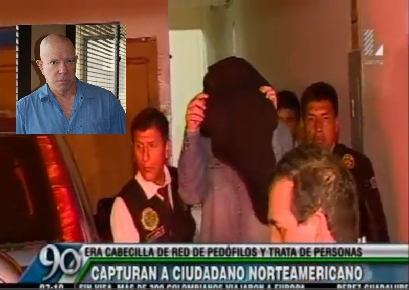 American man arrested for sex trafficking of children in Peru