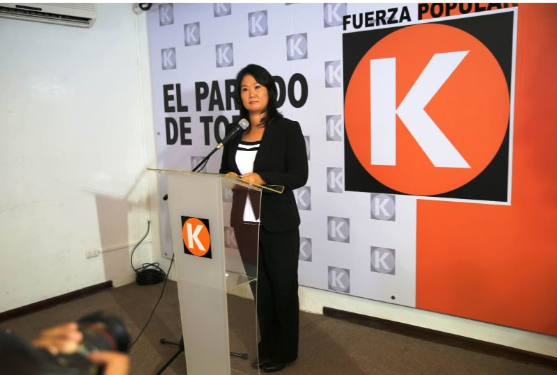 Keiko Fujimori purges her father's old guard from party