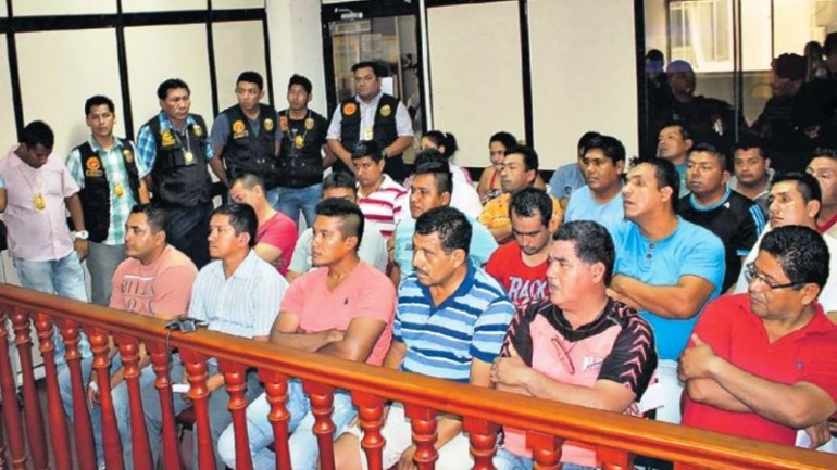 Northern Peru gang included eight police officers