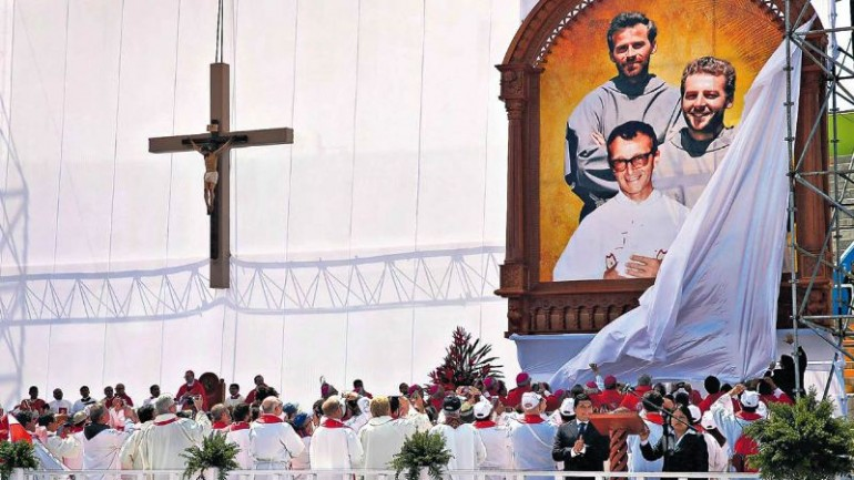 Three priests murdered by Shining Path beatified in Peru