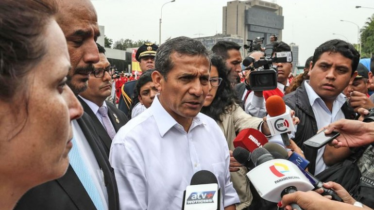 Humala accused of violating Peru's electoral neutrality