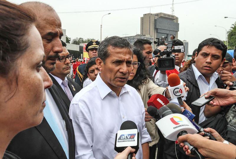 Humala accused of violating Peru's electoral neutrality