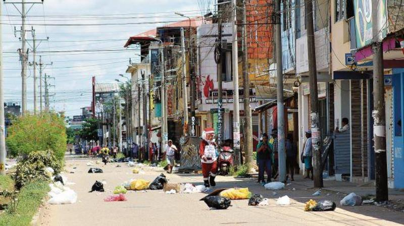 Peru region short on food as strike enters second week