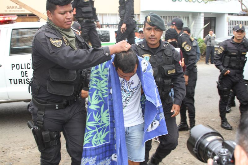Corrupt police gangs arrested throughout Peru