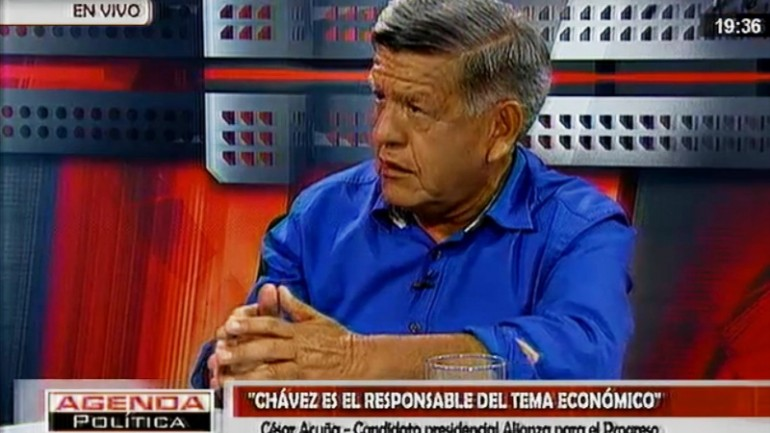 Cesar Acuña promises state controls on prices, exchange rate