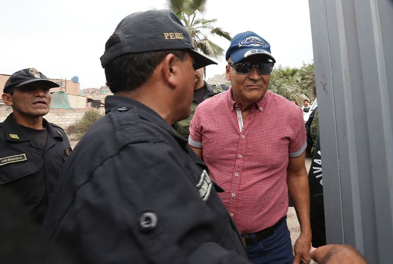 Peru drug lord eyes TV series after 22 years in prison
