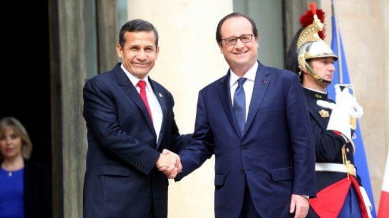 Humala to sign extradition treaty with France