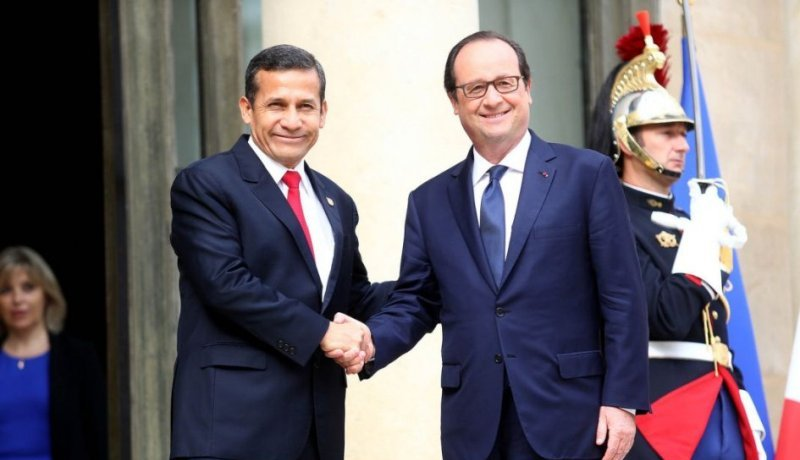 Humala to sign extradition treaty with France