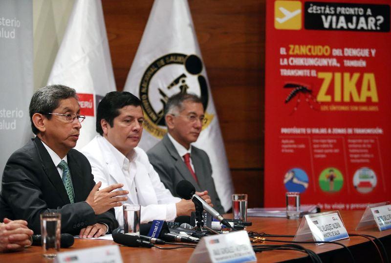 Peru reports first confirmed case of Zika virus