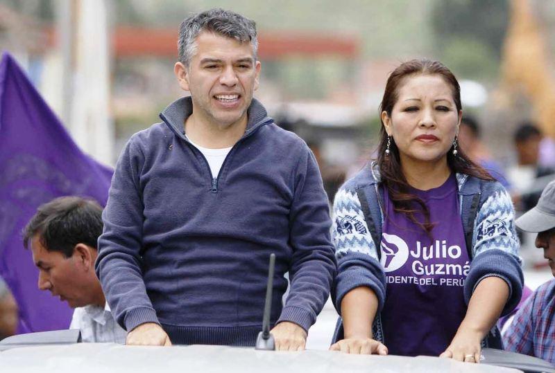 Peru's electoral board approves Julio Guzman's candidacy