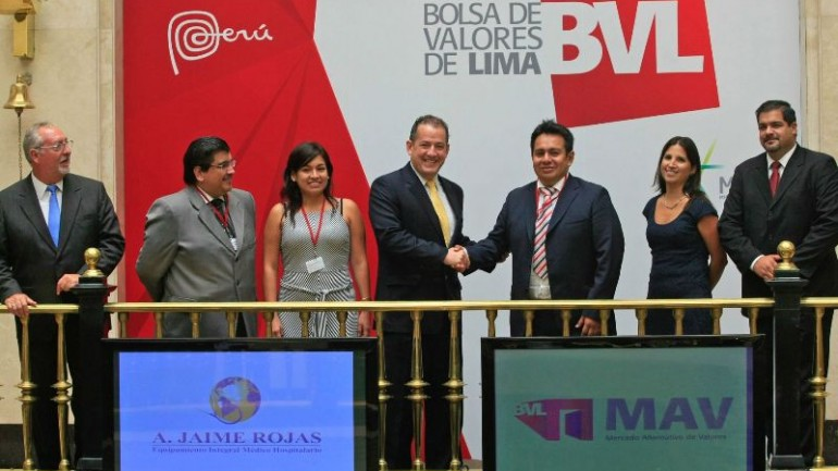 Lima stock exchange's alternatives market doubled in 2015