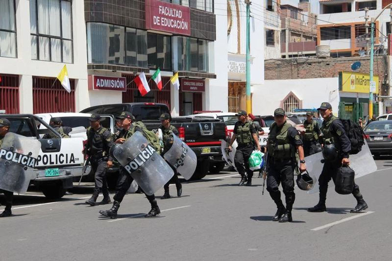 Martial law has limited effect in reducing crime in Peru