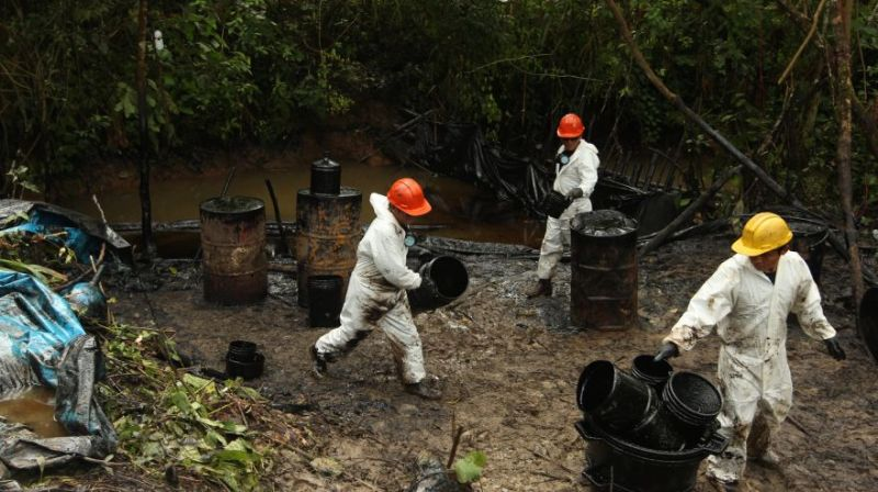 Peru's state oil firm fined $3.6 million for oil spill