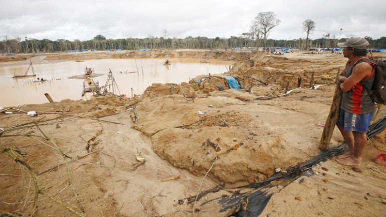 Peru spends millions in losing fight against illegal mining