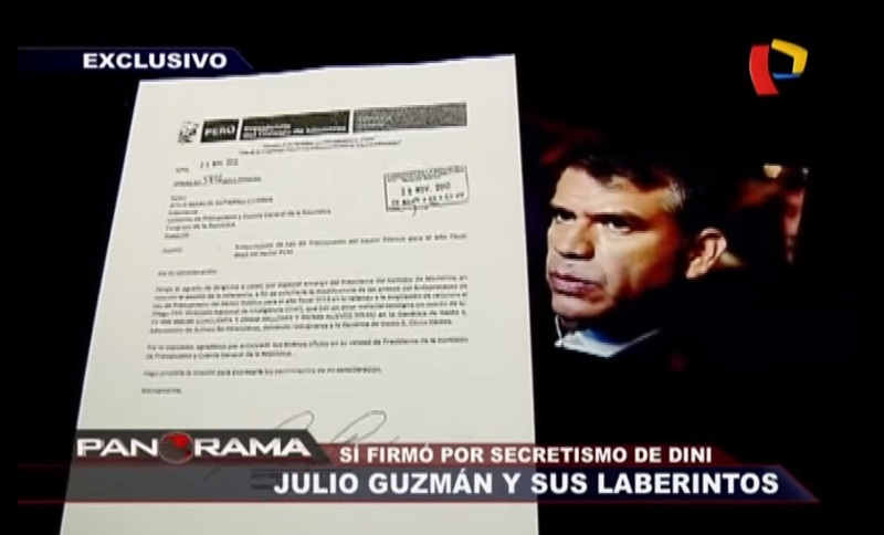Julio Guzman linked to Peru's domestic spying scandal