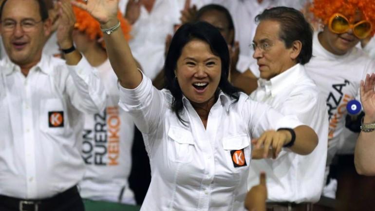 Peru's Keiko Fujimori not being investigated: DEA