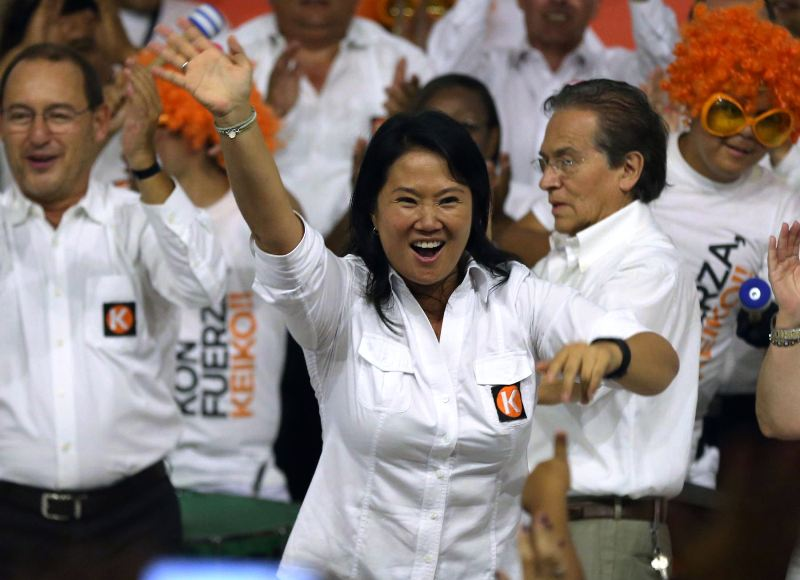 Exonerated, Keiko Fujimori to continue in Peru's 2016 elections