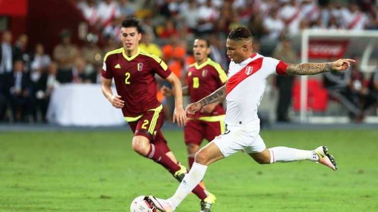Paolo Guerrero becomes Peru's top goal-scorer of all time