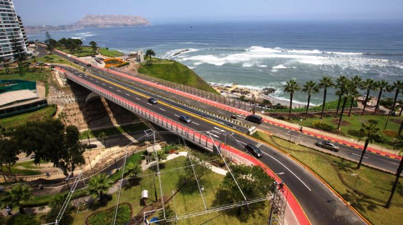 Bridge upgrade to reduce traffic 40% in Lima tourist district