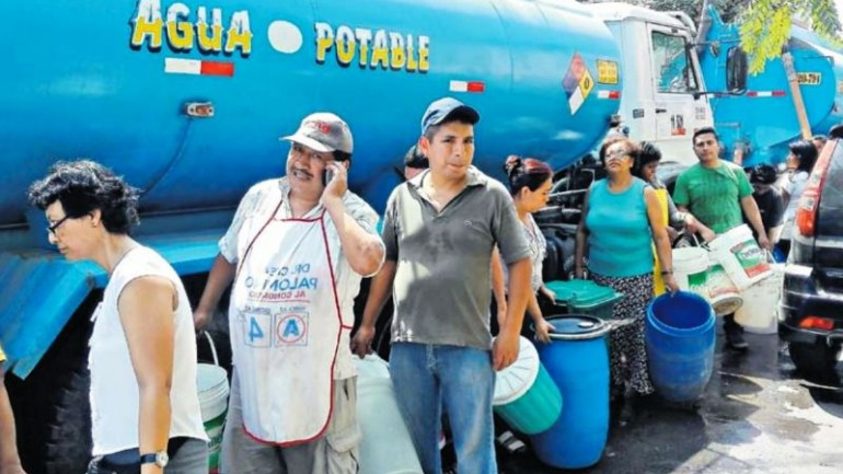 Peru: 1 million Lima residents go two days without water