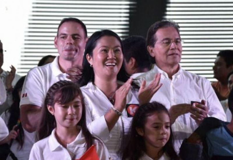 Keiko Fujimori's VP barred from running for Peru's Congress
