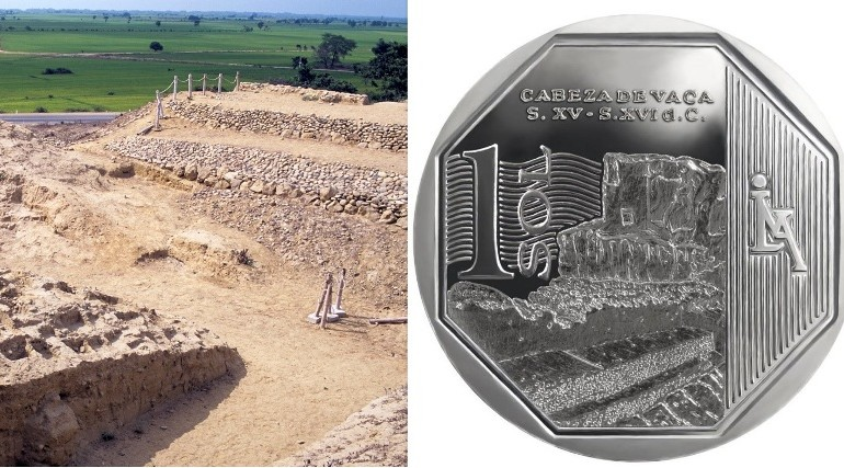 Collectors coin commemorates Inca site in northern Peru