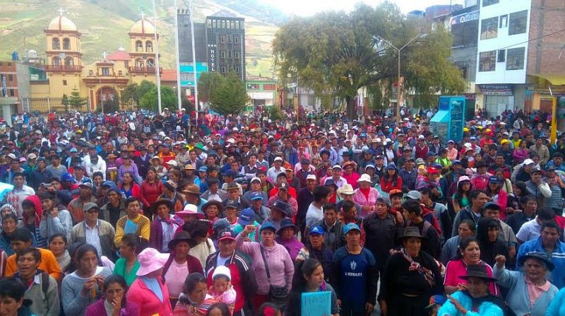 Bloody protests over university in Peru's rural highlands