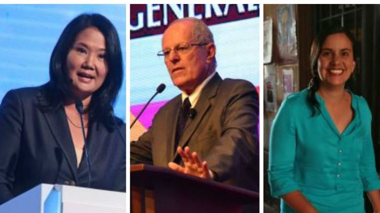 Kuczynski seen facing Fujimori in Peru's runoff for president