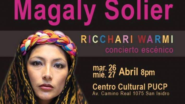 Peru actress Magaly Solier to direct live solo performance